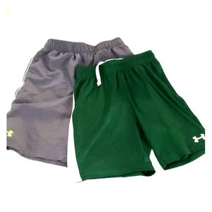 2 pairs Boy's Under Armour shorts